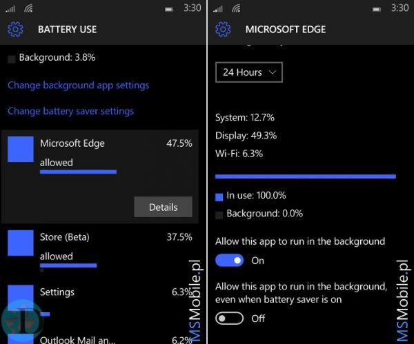 Windows 10 Mobile 10149 build