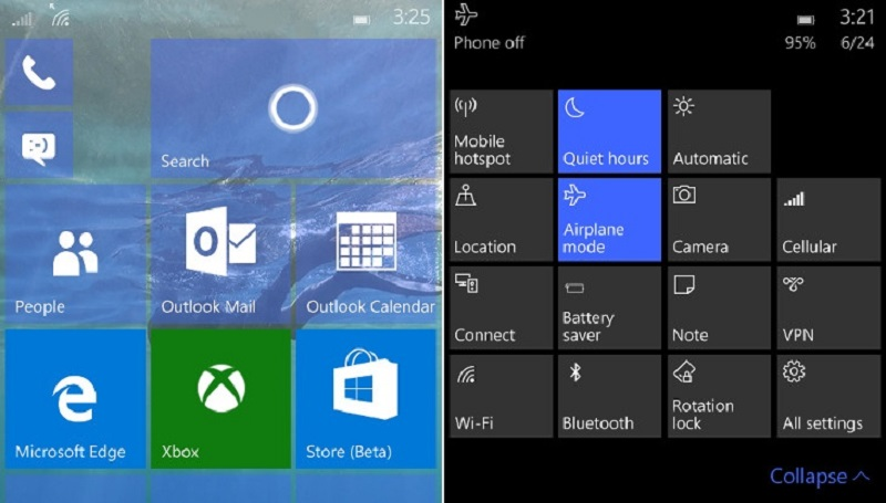 Windows 10 Mobile 10149 build