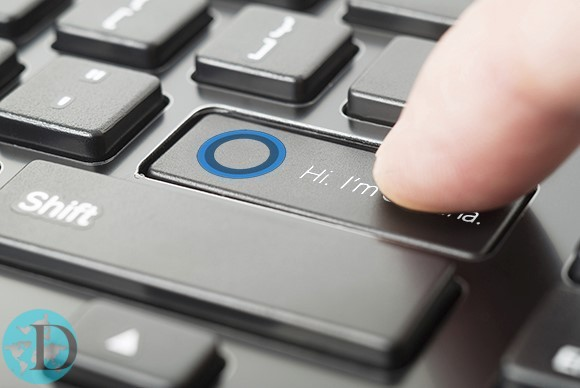 cortana button return key