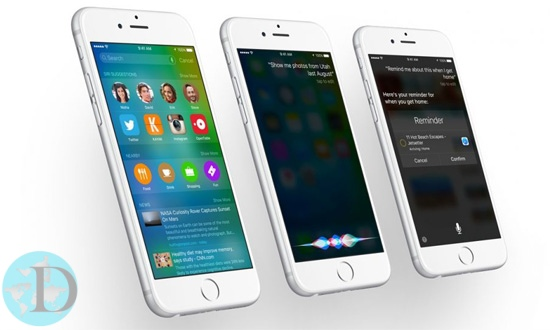 iOS 9 iPhone