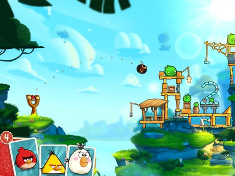 Angry Birds 2 Screen Shot