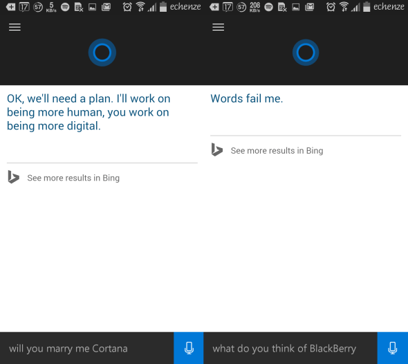 Cortana for AndrCortana for Android oid