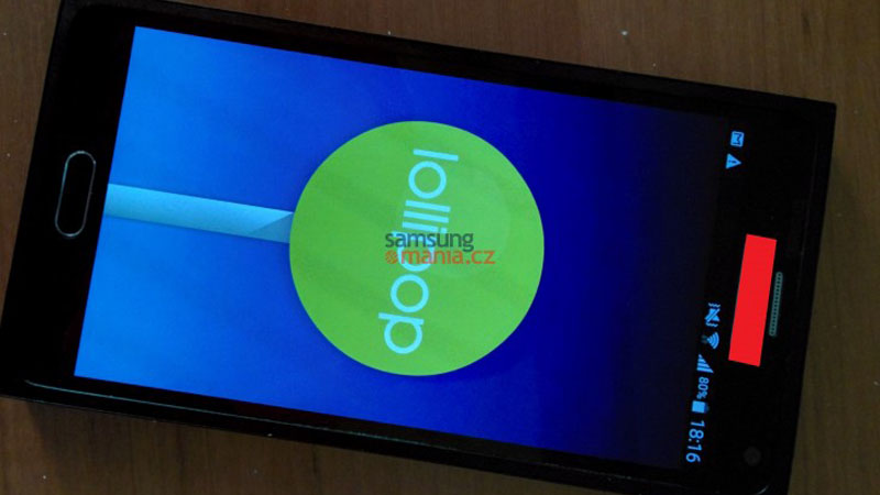 Galaxy Note 5 Lollipop