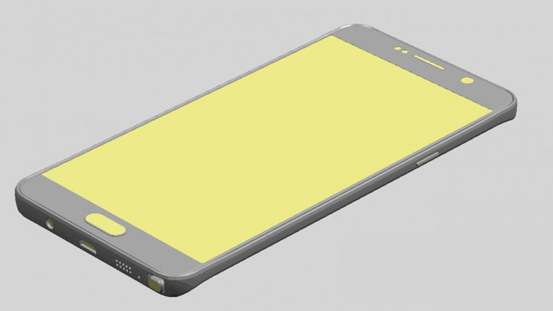 Galaxy Note 5 Render 01