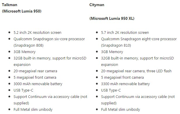 Lumia-950-XL-rumored-specs