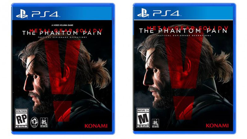 Metal Gear Solid V Final Cover