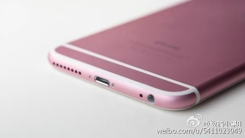 Pink iPhone 6s