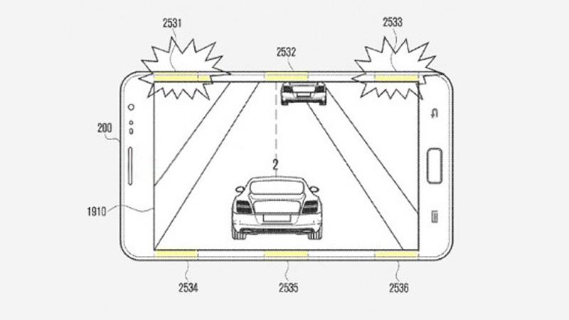 Samsung Sensor Pads Patent