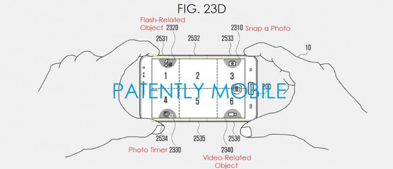 Samsung patents sensor pads to control with edges 02