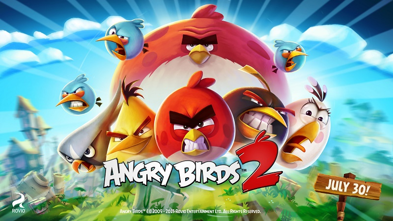 angry birds 2 for windows phone