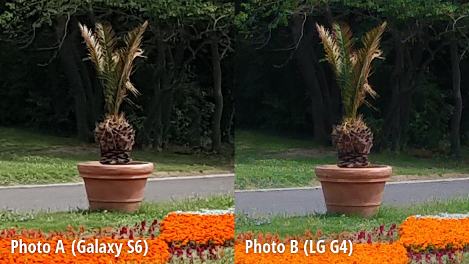 galaxy s6 and lg g4