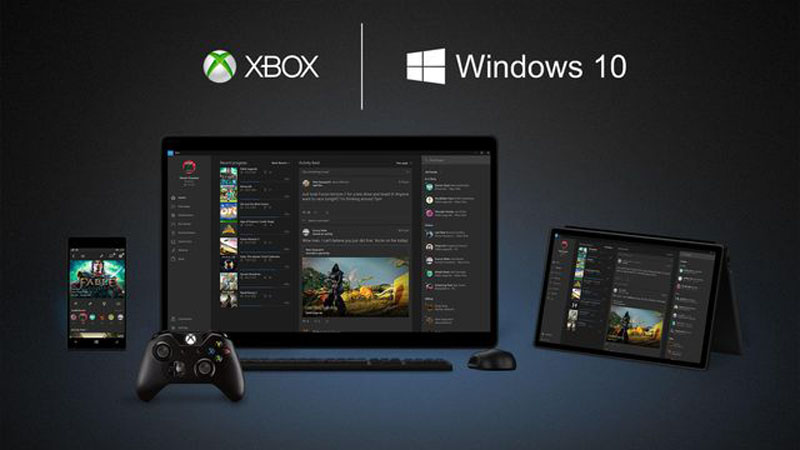 win10 and xbox one