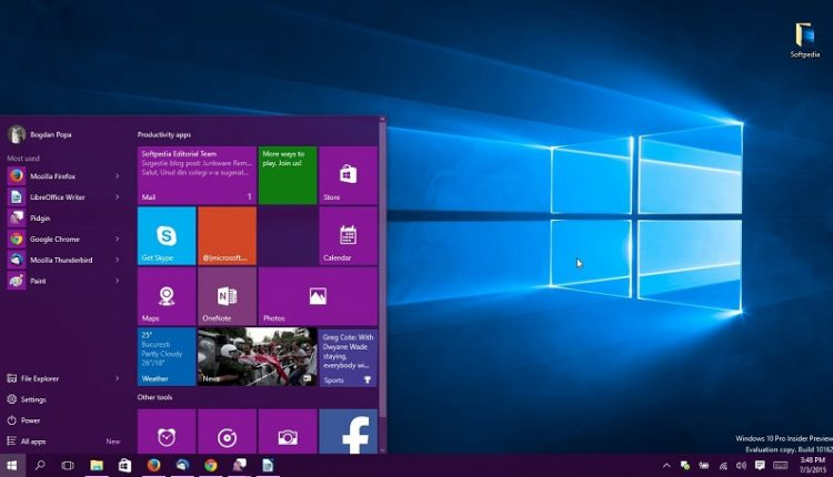 title bars on Windows 10
