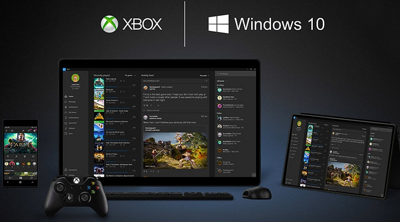 Xbox One game streaming to Windows 10 PCs