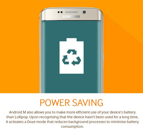 Android M Power Saving