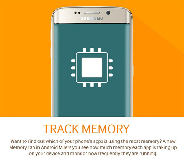 Android M Track Memory