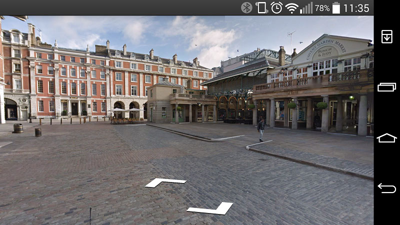 How to use Street View on Android