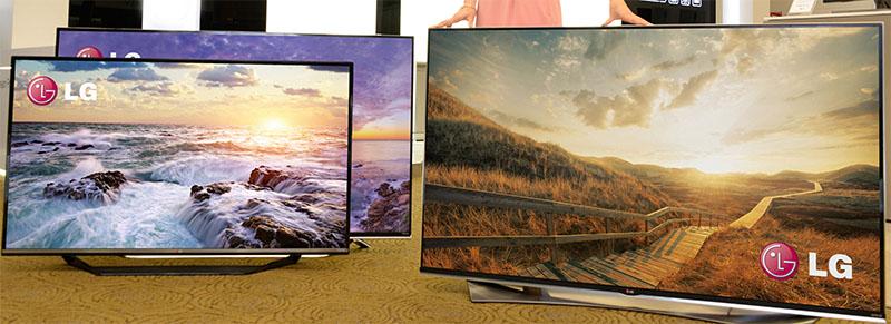 LG ULTRA HD TVs CES2015
