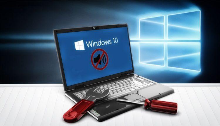 No sound on Windows 10