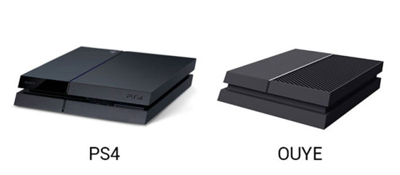 OUYE and PS4