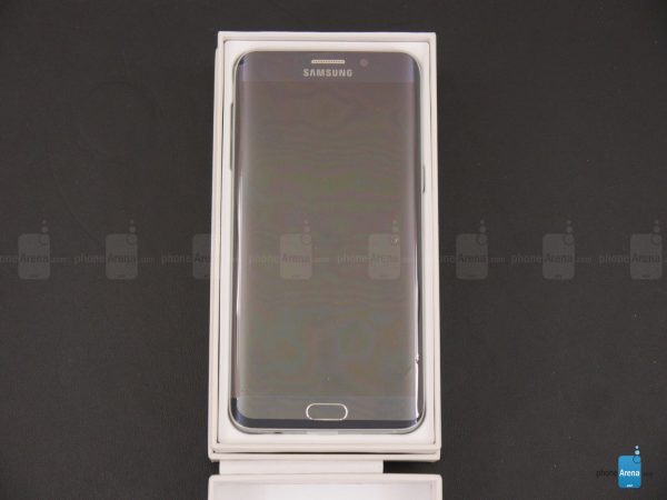 Samsung Galaxy S6 edge unboxing )