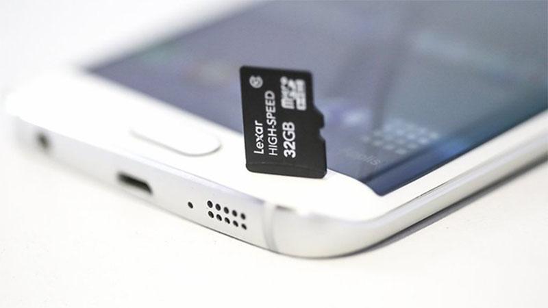 Samsung Galaxy and microSD