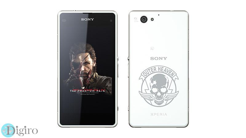 Xperia J1 Compact with Metal Gear Solid Logo