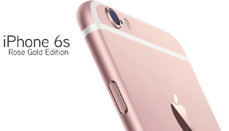 Rose Gold Apple iPhone 6s