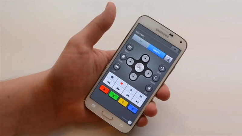 smartphone as a television remote