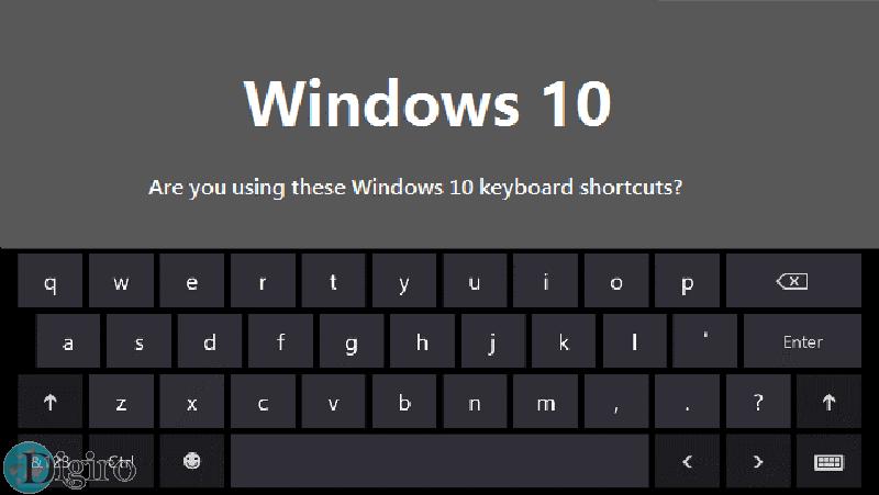 20 کلید میانبر صفحه کلید در ویندوز 10