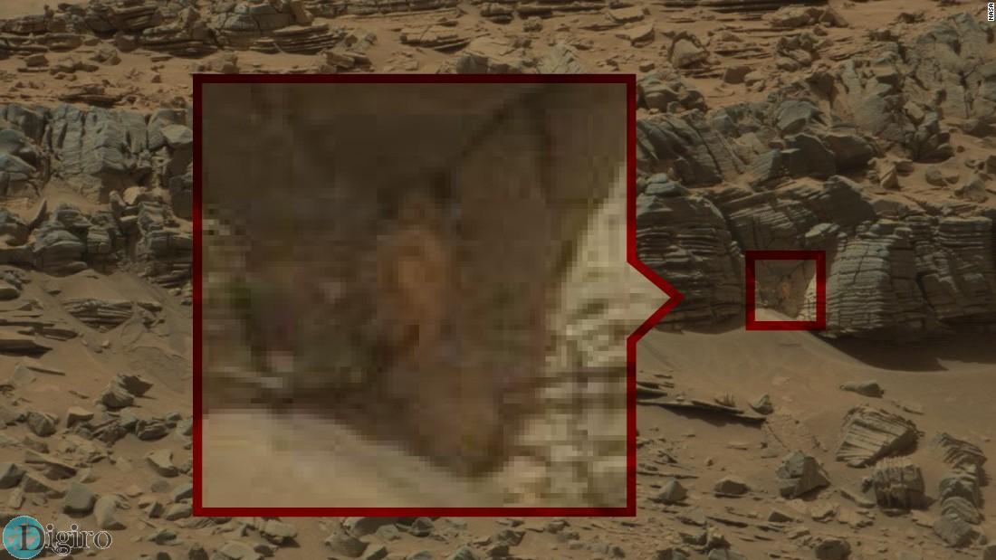 تصاویر خرچنگ در مریخ