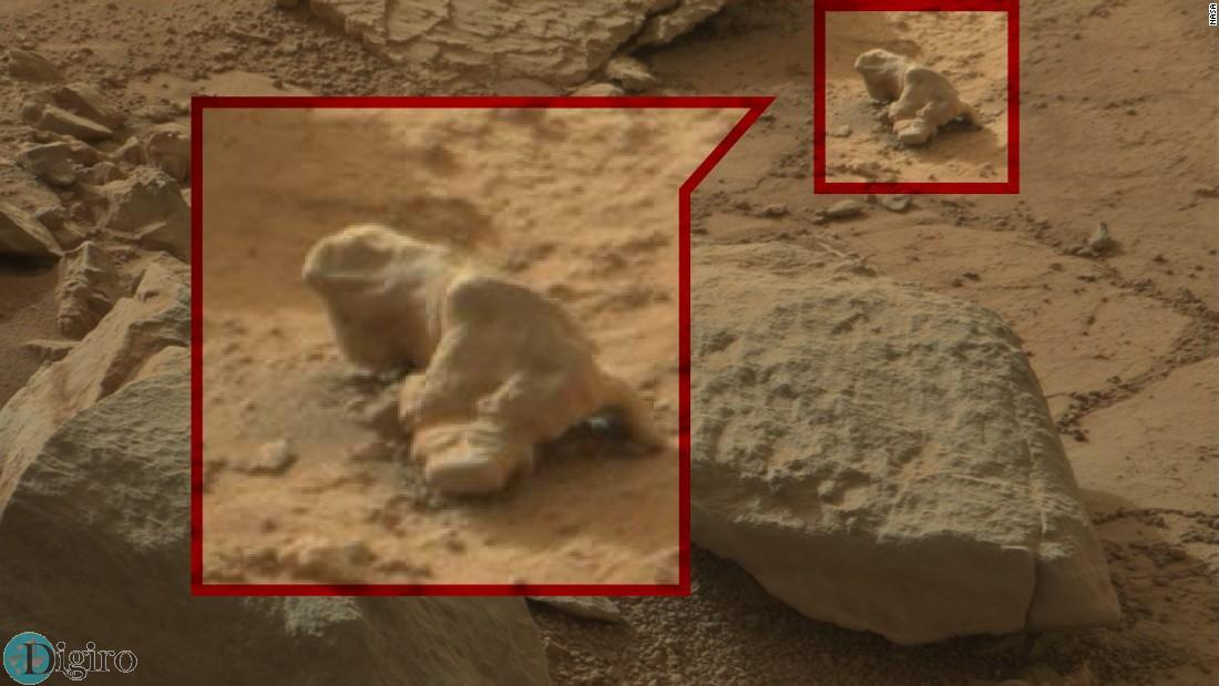 سوسمار بزرگی در مریخ
