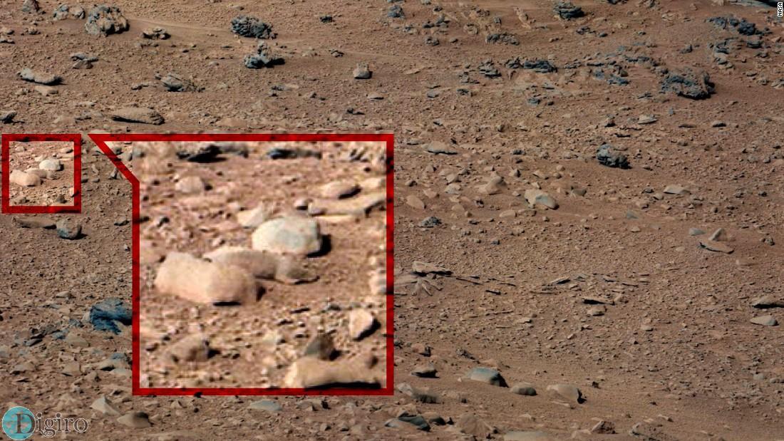 تصاویر عجیب و غریب مریخ