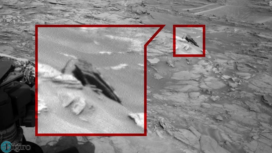 سفینه فضایی در مریخ