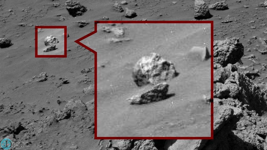 جمجمه در مریخ