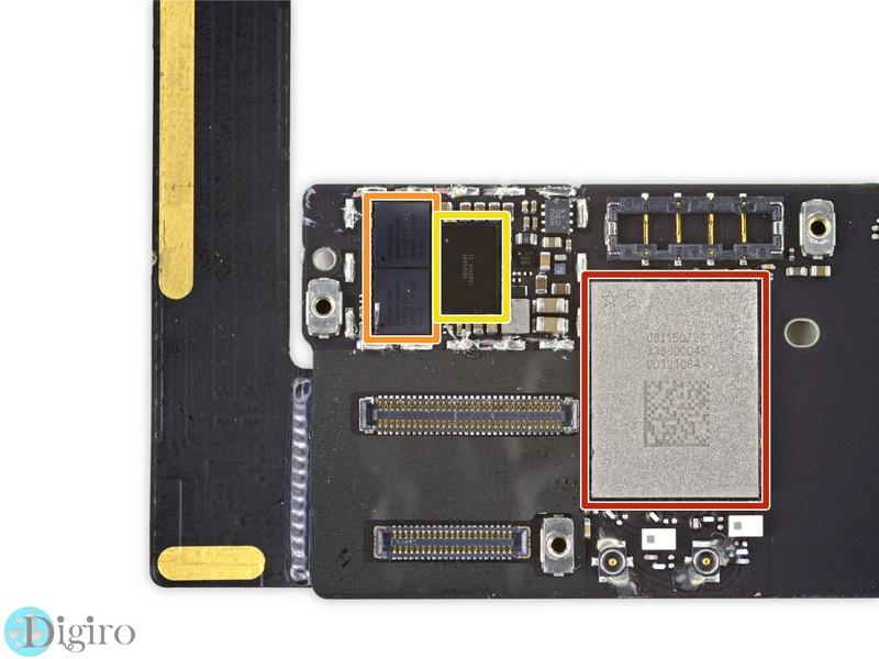 کالبدشکافی آیپد مینی ۴ اپل