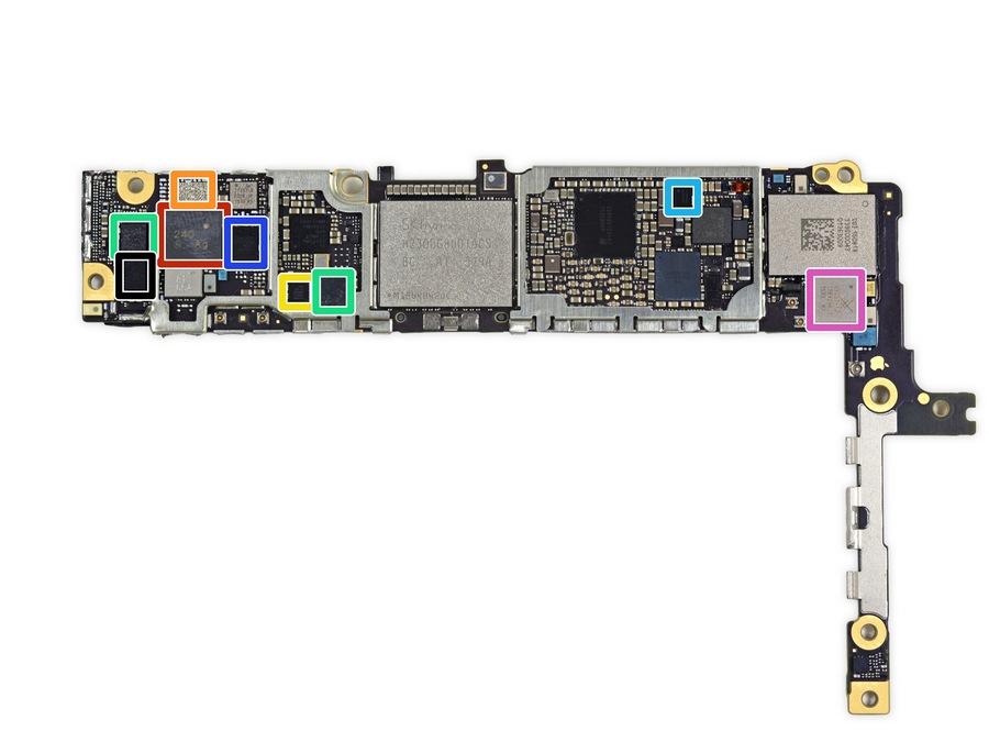 کالبدشکافی آیفون 6 اس پلاس اپل توسط iFixit