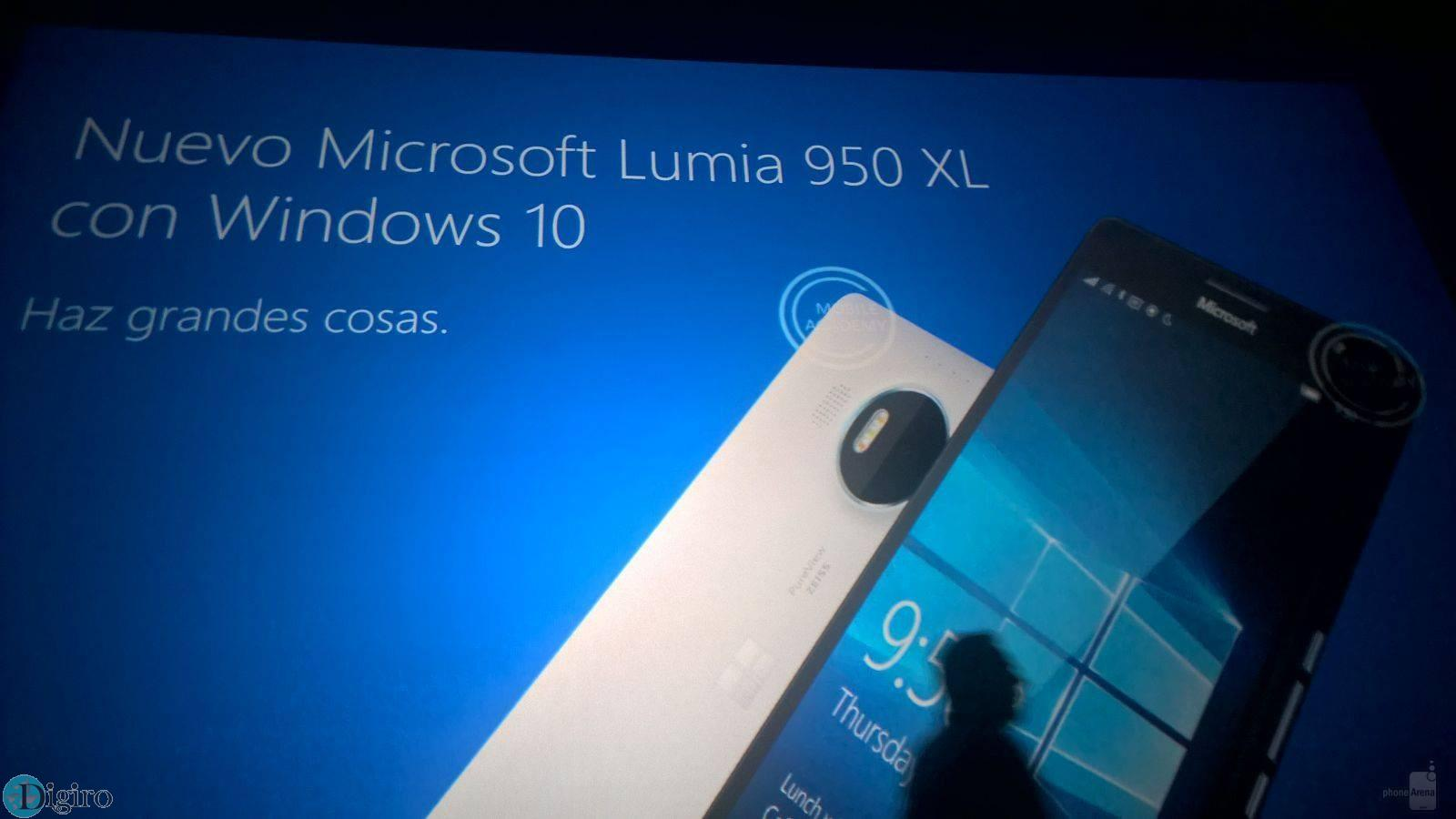 لومیا 950 و لومیا 950 ایکس ال