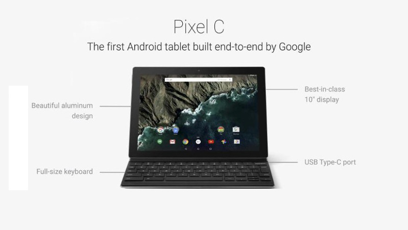 پیکسل سی ( Pixel C) گوگل