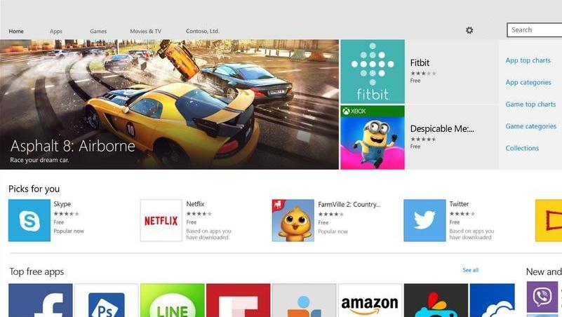 مایکروسافت: ۶۹۹ هزار اپلیکیشن موبایل و PC در ویندوز استور