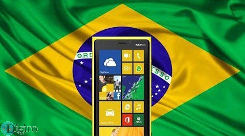 ویندوزفون در برزیل محبوب تر از آی او اس اپل