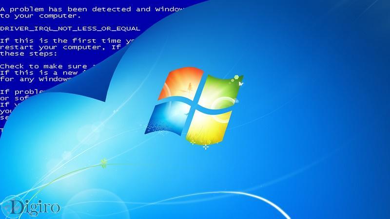 دلیل نمایش صفحه بلو اسکرین در ویندوز
