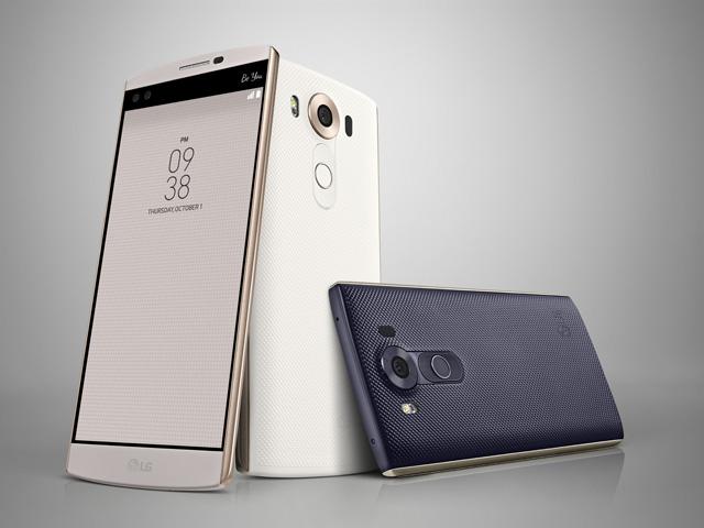 تلفن هوشمند ال جی V10