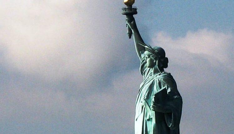 مجسمه آزادی در ایالات متحده