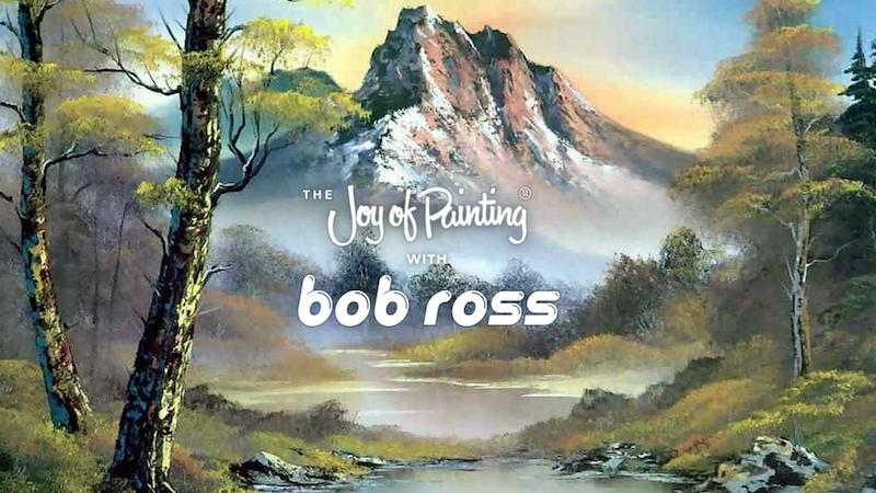 تمامی قسمت های برنامه نقاشی Bob Ross را در توییچ تماشا کنید