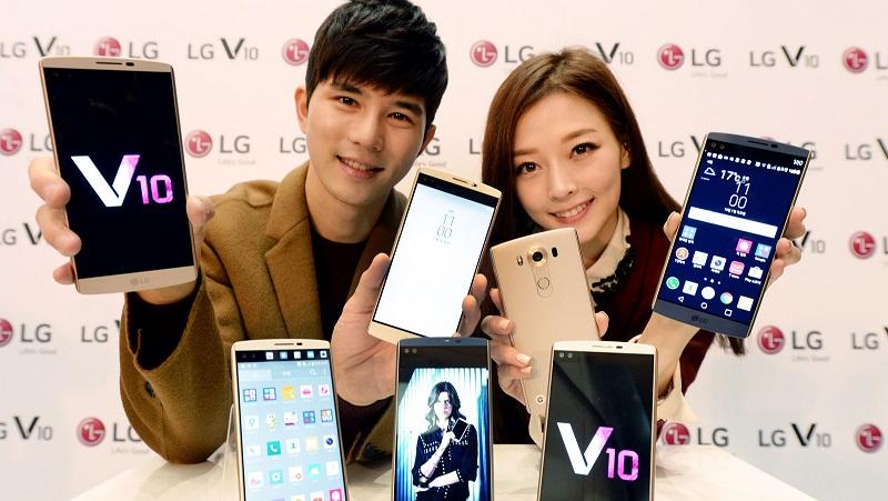 ال جی وی ۱۰ (LG V10)