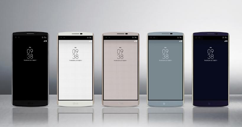 ال جی وی ۱۰ (LG V10) رسما معرفی شد