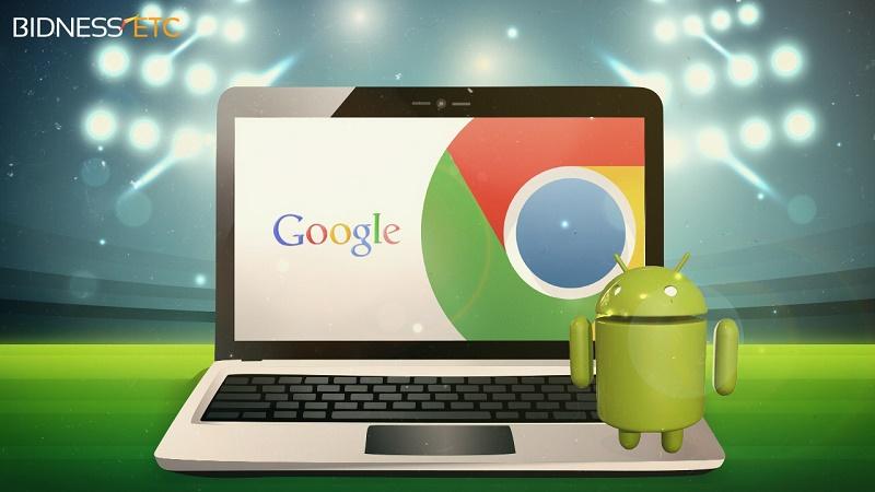 وال استریت: گوگل تا سال 2017 سیستم عامل کروم را با اندروید ادغام خواهد کرد