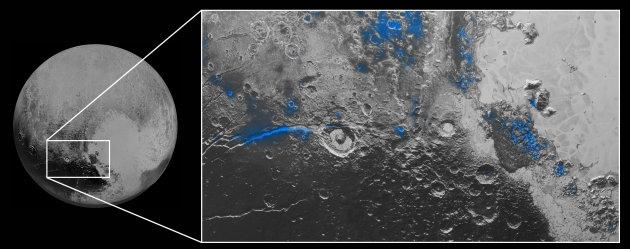ناسا: پلوتو آب سطحی و آسمانی آبی دارد