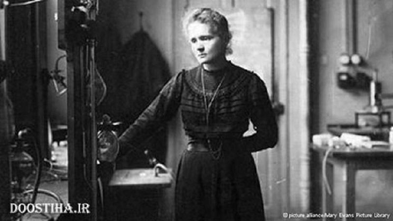 ماری کوری دانشمند برجسته لهستانی چشم به دنیا گشود